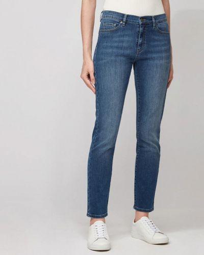 Синие весенние джинсы Boss