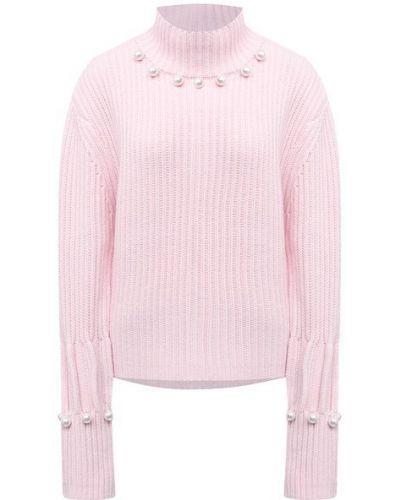 Шерстяной розовый свитер Jw Anderson