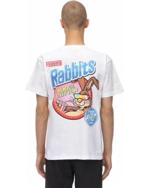 Biały t-shirt bawełniany Fr2 - Fxxking Rabbits