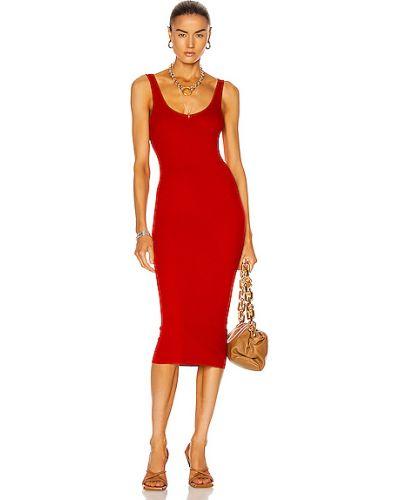Трикотажное платье миди Enza Costa