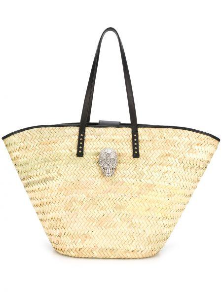 Кожаная сумка Philipp Plein