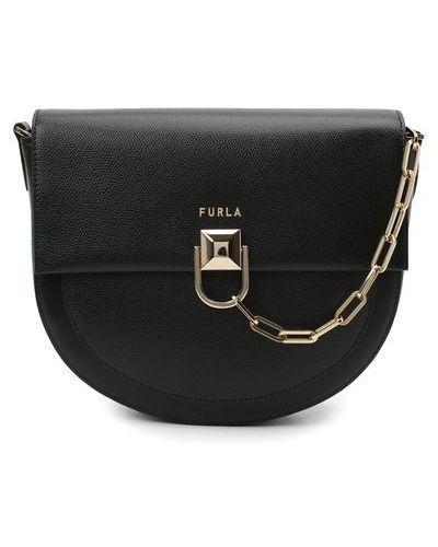 Кожаная сумка через плечо Furla