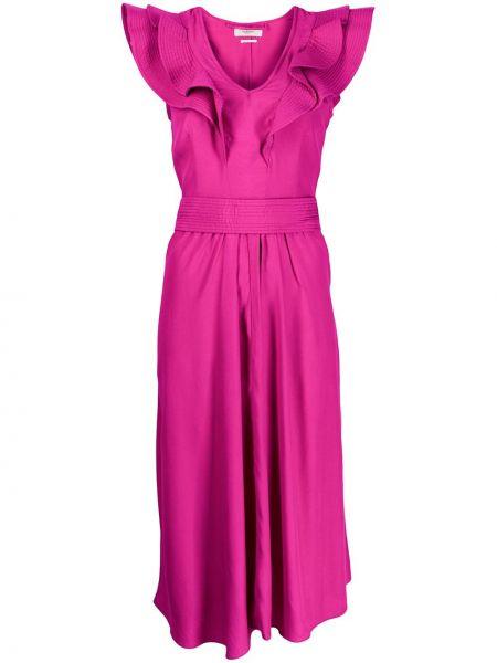 Sukienka bez rękawów różowa Isabel Marant Etoile