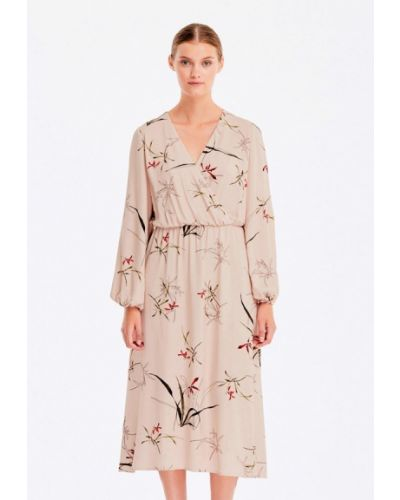Платье с запахом осеннее Musthave