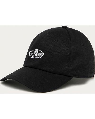 Czarny kapelusz bawełniany Vans