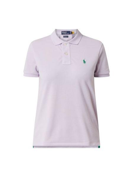 T-shirt krótki rękaw - fioletowa Polo Ralph Lauren