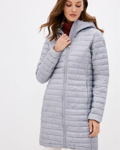 Теплая серая утепленная куртка Luhta