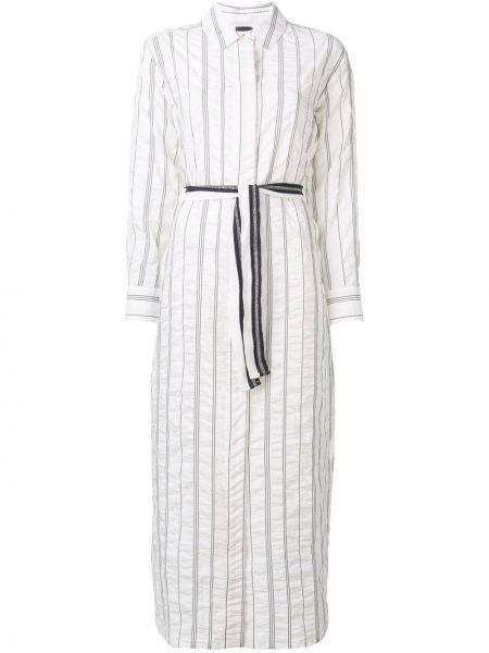 Платье с поясом на пуговицах классическое Lorena Antoniazzi