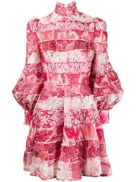 Платье макси с завышенной талией шелковое Zimmermann