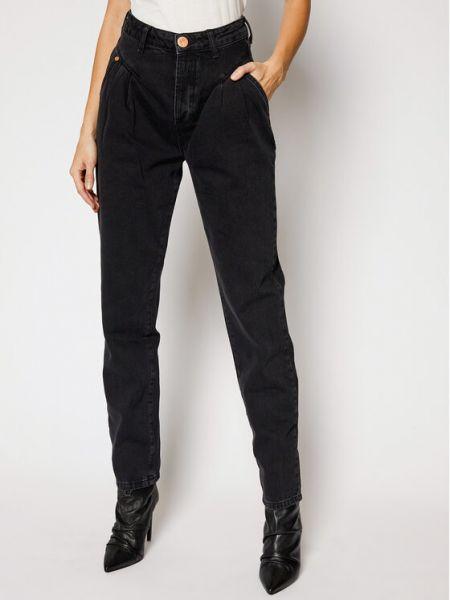 Mom jeans - czarne One Teaspoon