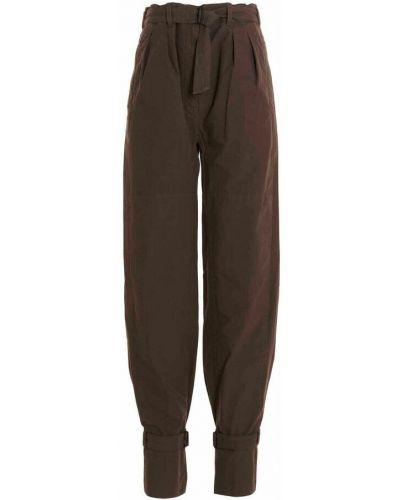 Spodnie - brązowe Lemaire