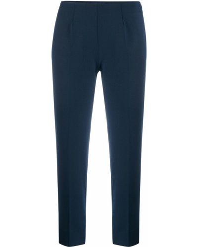 Укороченные брюки с завышенной талией плиссированные Piazza Sempione