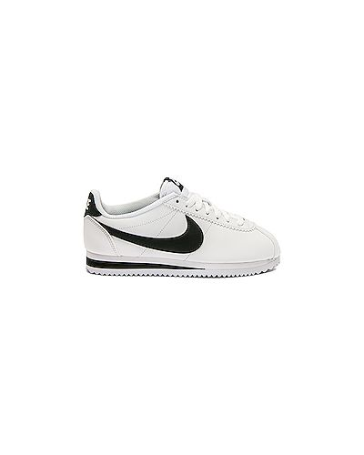Кожаные кроссовки белый Nike