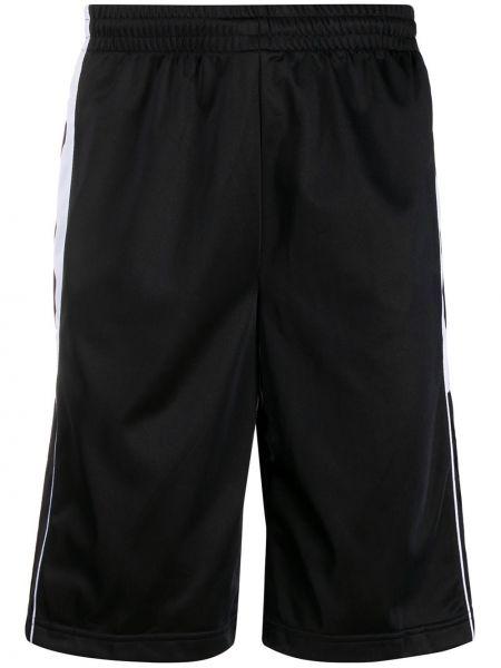 Черные шорты с карманами Kappa