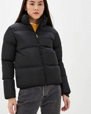 Утепленная куртка демисезонная черная Lenavi