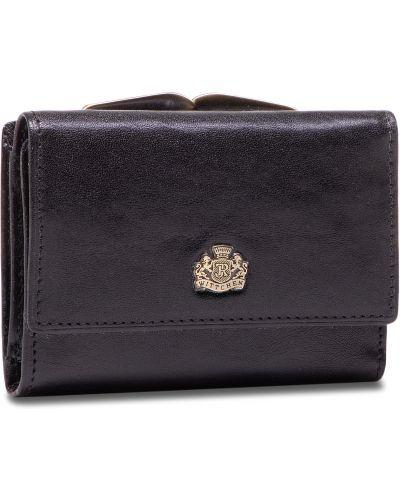 Złoty portfel - czarny Wittchen