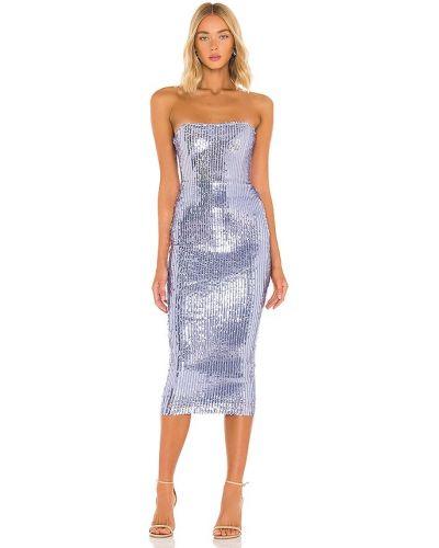 Fioletowa sukienka z cekinami Nookie