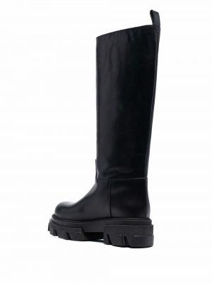 Черные кожаные дезерты P.a.r.o.s.h.