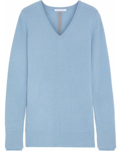Синий кашемировый свитер Duffy