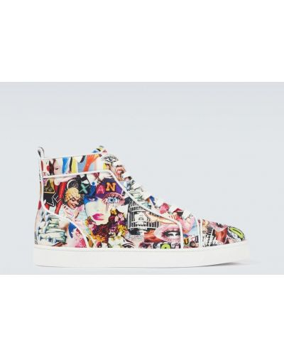 Włoskie sneakersy Christian Louboutin