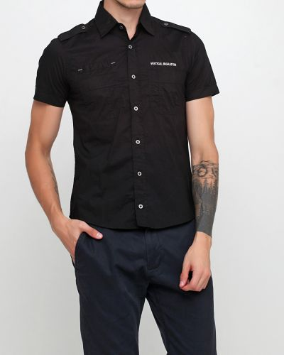 Рубашка - черная Cipo & Baxx
