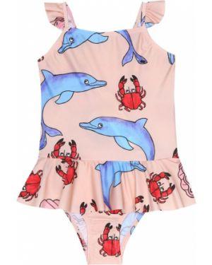 Strój kąpielowy różowy kostium Mini Rodini