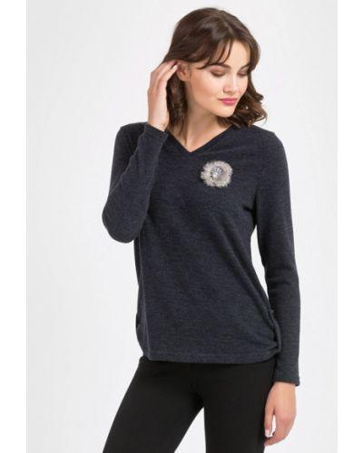 Серый пуловер Remix