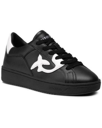 Czarne sneakersy Pinko