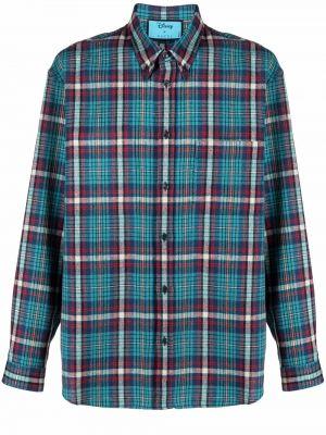 Koszula wełniana - niebieska Gucci