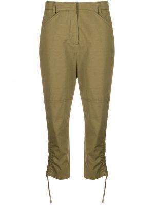 Укороченные брюки - зеленые Dorothee Schumacher