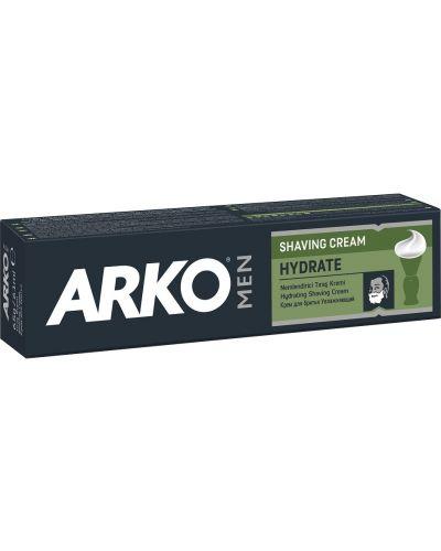 Кожаный крем для бритья увлажняющий Arko