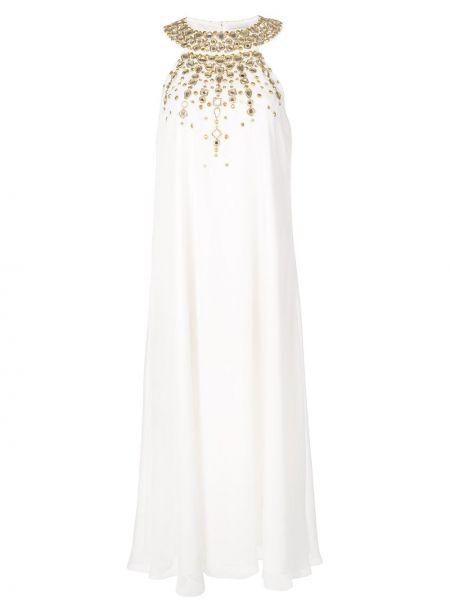 Biała sukienka midi Rachel Zoe