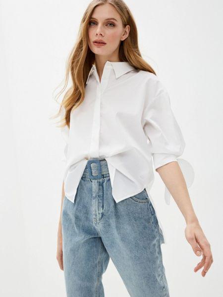 Блузка с длинным рукавом белая весенний Love Republic