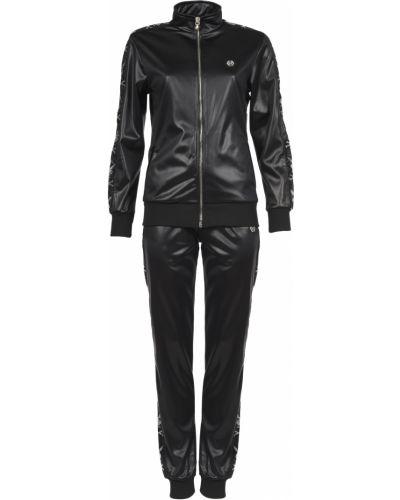 Кашемировый спортивный костюм - черный Philipp Plein