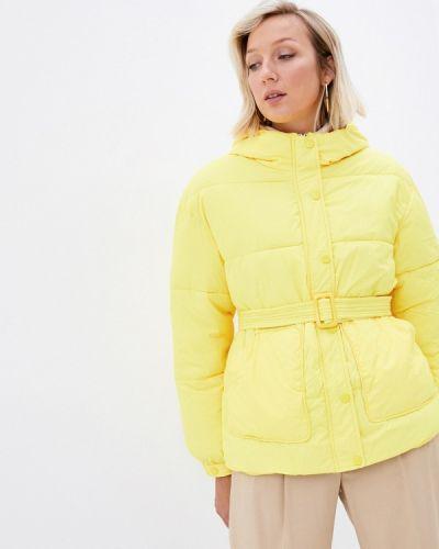 Желтая куртка осенняя Fadjo