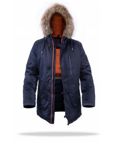 Стеганая куртка - синяя Freever