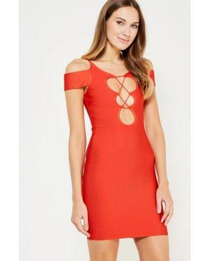 Платье футляр - красное Paccio