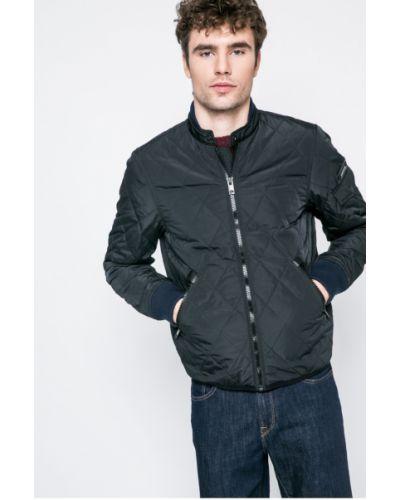 Черная утепленная куртка Diesel