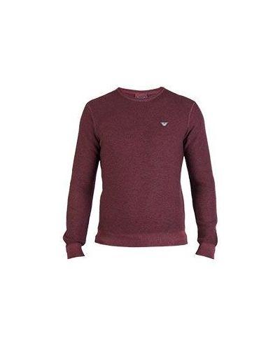 Красный свитер Armani Jeans