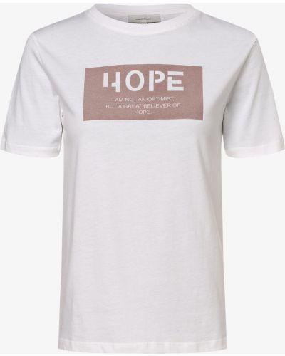 Biała koszulka z printem Apriori