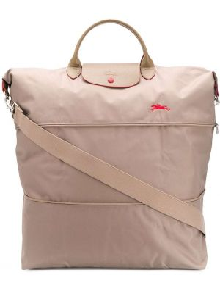 Skórzana torebka na ramię droga Longchamp