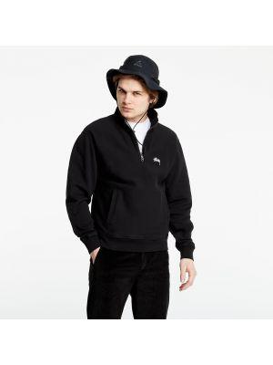 Czarny pulower Stussy