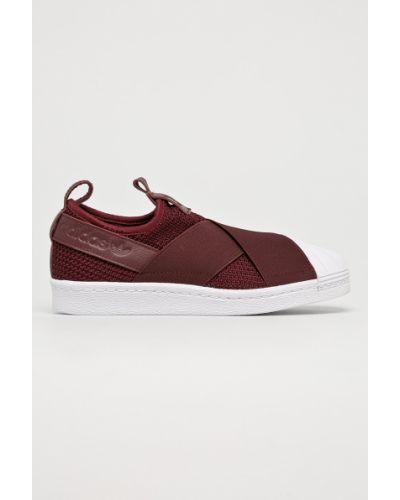Слипоны кожаные текстильные Adidas Originals