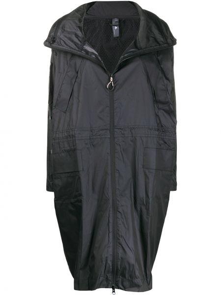 Парка длинная - черная Adidas By Stella Mccartney