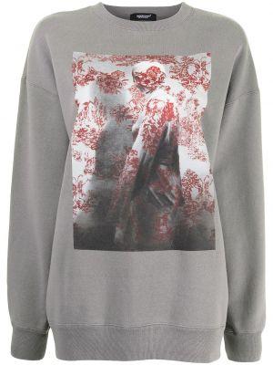 Серый хлопковый свитер Undercover