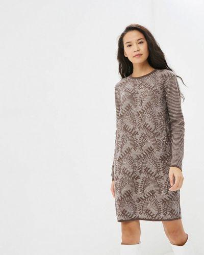 Платье - коричневое Milana Style