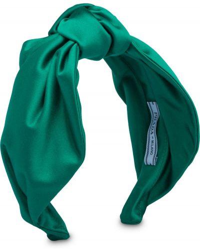 Ободок - зеленый Prada