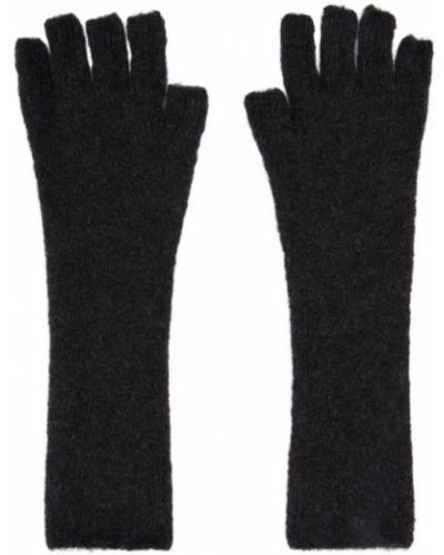Szare rękawiczki bez palców Isabel Benenato