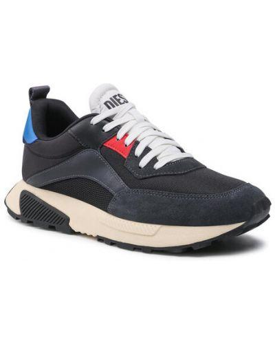 Czarne sneakersy Diesel