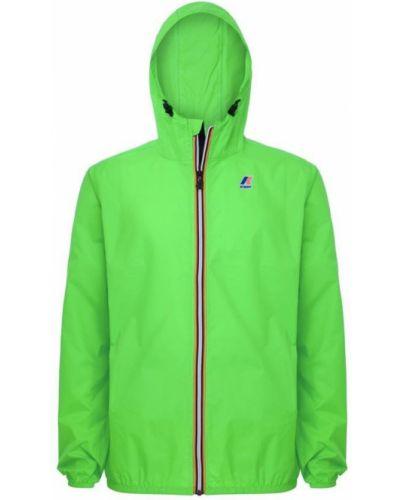 Zielona kurtka K-way